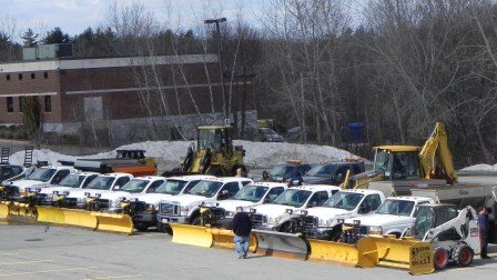 Industrial Snow Removal Contractor Andover MA